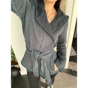 Lucky Brand Jingo Hooded Wrap Sweatshirt